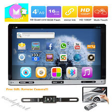 7'' Smart Android 6.0 4G WiFi Double 2DIN Car Radio Stereo DVD Player GPS+Camera