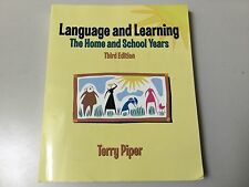 LANGUAGE AND LEARNING,THE HOME AND SCHOOL YEARS 3RD EDITION, VERY GOOD