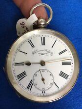 Antique Silver J G Graves Sheffield Pocket Watch