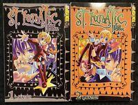St. Lunatic High School Manga 1, 2 Tokyopop MINT Graphic Novel OOP Horror