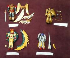 Gundam Action Figures Lot of 4 Zuos, Cobra, Heaven's Sword, Rose