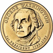 "2007 D George Washington Presidential Dollar ""Brilliant Uncirculated"" Coin US"