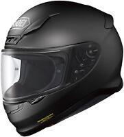 SHOEI RF-1200 FULL FACE MOTORCYCLE HELMET MATTE BLACK LARGE LG 0109-0135-06