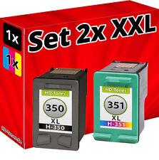 TINTE PATRONEN für HP350+351 PhotoSmart C4580 D5360 C4280 C5280 D4260 D4360
