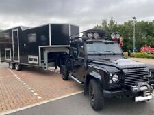 LHD LAND ROVER DEFENDER 130 D/CAB 5TH WHEEL, INC EXPEDITION & FLATBED TRAILER