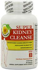 Health Plus Super Kidney Cleanse K1 B6 B12 & Astaxanthin 90 Caps Detoxifies