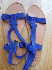 Women's Roxy Blue Suede Sandals Size 7 *Worn once*