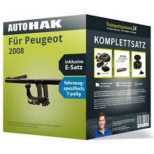 Anhängerkupplung abnehmbar für PEUGEOT 2008 +E-Satz AHK