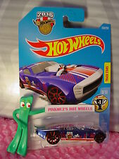 2016 i Hot Wheels NITRO DOORSLAMMER #238✰Blue/White; Red TRAP5✰HW GAMES✰Case Q✰