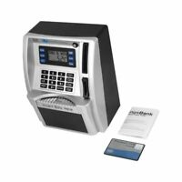 Mini ATM Safe Electronic Piggy Cash Coin Bank For Kids Password Lock Register
