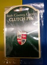 Longford GAA Irish County Crests Clutch Pin (Brand New Still in Packaging)