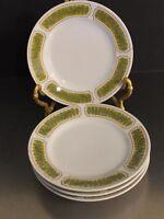 Franciscan Ware Whitestone Hawaii Pattern MCM Japan 4 Small Plates Tiki Vibe