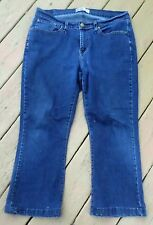 "Levis Signature Curvy Bootcut Jeans Size 16S - 36x24 -Mid-Rise 10"""