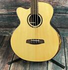Ortega Left Handed STRIPSU.ACB-L Private Room 4 String  Acoustic Electric Bass G for sale