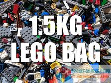 LEGO 1.5Kg Mixed Bricks, Parts, Pieces, Spares - clean & genuine - Bulk Job Lot