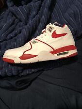 Nike Air Flight 89 White Red DS Brand New Size 8 OG Color Basketball Sneaker