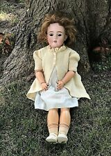 """Antique 27"""" Kley & Hahn Walkure German Bisque Composition Jointed Doll - #250"""
