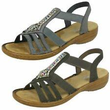 Ladies Rieker Beaded Detail Sandals '608S1'