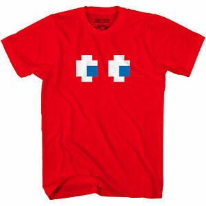 Pac-Man Blinky Shadow Face Red Pacman Video Game Shirt