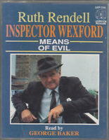 Ruth Rendell Means Of Evil Inspector Wexford 2 Cassette Audio Book Crime