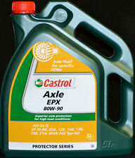 5 Liter Castrol Axle EPX 80W-90 API GL-5, ZF TE-ML 16B, 17B, 19B, 21A 80W90