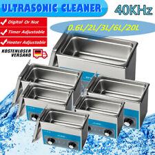 2L/3L/6L Ultraschallreiniger Reinigungsgerät Schmuck Ultrasonic Cleaner Reiniger