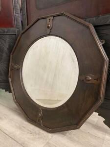 Antique C1930 Bevelled Edge Mirror
