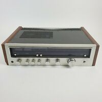KENWOOD KR-4600 VTG Silver Face Stereo Reciever AM/FM *For Parts or Repair