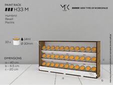 MK HOBBY (HDF) Paint Bottles Rack Organizer for 33 bottles 14ml Humbrol  H33 M