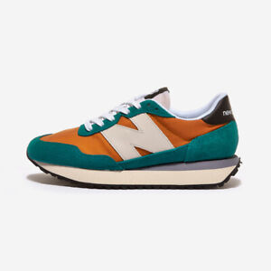 New Balance 237 - Orange Green / MS237AB / Running Shoes Sneakers
