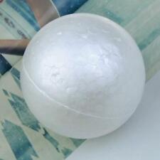 10pcs White Modelling Craft Polystyrene Foam Ball Sphere 10cm