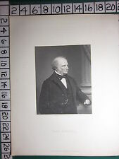 c1830 ANTIQUE PRINT ~ EARL RUSSELL