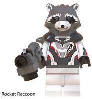 Avengers: Endgame Marvel Rocket Raccoon Infinity War Superheroes Building Blocks