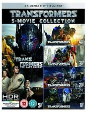 Transformers 5 Movie Collection 4k UHD Blu-ray 2017