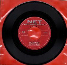 CLETO COLOMBO CARLA FERRARI disco 45 g MADE in ITALY Vita difficile SERIE NET