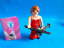 Playmobil Figures Girls series 5 woman with violin fiddle Violinista 5461