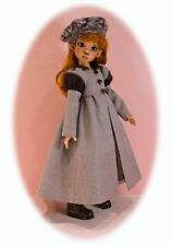 #48 Truffles; Coat, jacket & dress pattern for Kaye Wiggs' & other Msd Bjd dolls