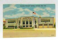 Lancaster New York Municipal Building Vintage Postcard