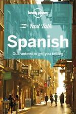 Lonely Planet Fast Talk Spanish Phrasebook *FREE SHIPPING - NEW*