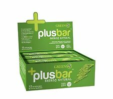 Greens Plus Energy Bar PlusBar Energy Natural 2.0 oz Case of 12