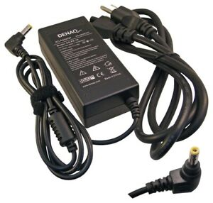 DENAQ 60W 19V AC Power Adapter for Select Dell Inspiron and Latitude Laptops