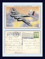 US ARMY AIR CORPS FLYING FORTRESS B-17C 20 APR 1943 TO RALPH ZALEWSKI, SMYRNA TN