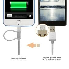 4' Lighting USB charger for Android, Apple iPhone and iPad