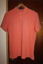 Polo Ralph Lauren Custom Fit Men's Orange Polo Shirt Size Small