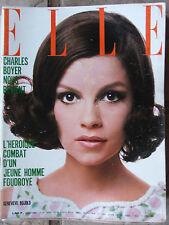 ELLE n°1165 (18 avril 1968) Charles Boyer - Mode jeunes tziganes - Goya/Debout