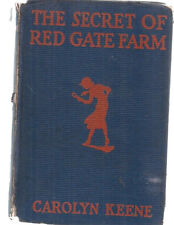 NANCY DREW Secret of Red Gate Farm by Carolyn Keene (c) 1931 Grosset Dunlap HC