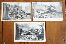 More details for 1906 grantham railway accident disaster railway postcard x3 great northern gnr