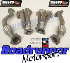 MILLTEK SSXVW072 GOLF R32 MK4 STAINLESS EXHAUST MANIFOLDS FREE FLOW