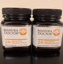 Manuka Doctor 24+ Bio Active Manuka Honey 8.75 oz (2) BOTTLES INCLUDED