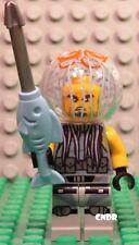 Lego The Ninjago Movie 70610 Flying Sub minifig JELLY with fish spear minifigure